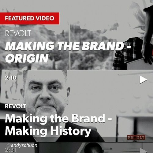 "By @andyschuon ""It's here. REVOLT's app is now in the Android & Apple app stores. Search: REVOLT TV and this week only get episodes of REVOLT's Making The Brand exclusively on the app @revolttv Musicapp LiveTV Tvanywhere Vevo musicvideo news"" The takeover is real..."
