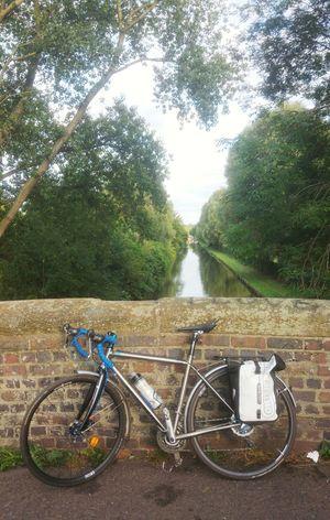Bikesaroundtheworld Black Country Bici Bikeporn Canal Bicicleta Outdoors Tree Nature Bike Bicycle Bridge