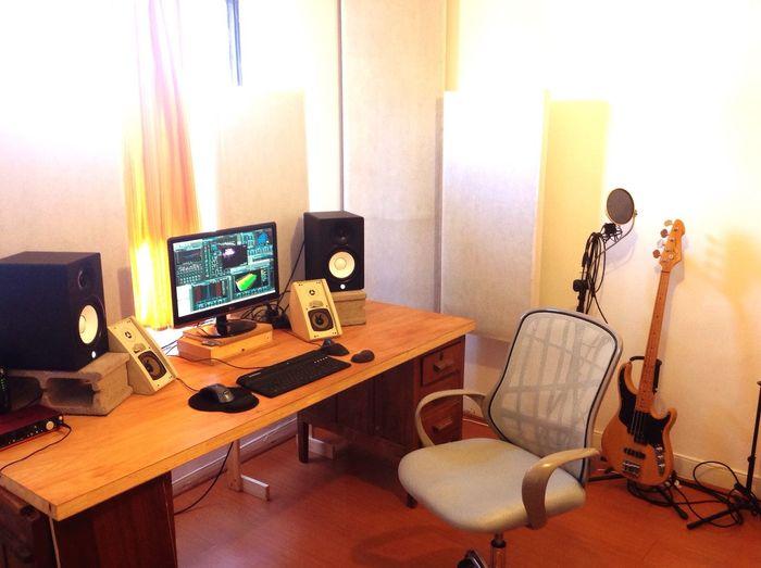 La sala de mezcla y masterización En El Estudio