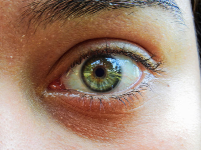 Green Nature Reflection Adult Close-up Day Eyeball Eyebrow Eyelash Eyesight Human Body Part Human Eye Human Skin Iris - Eye Landscape Looking At Camera One Person Outdoors People Portal Real People Sensory Perception Sky