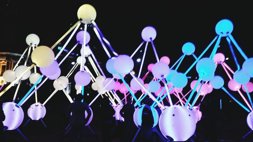 Art light up for Alzheimer's