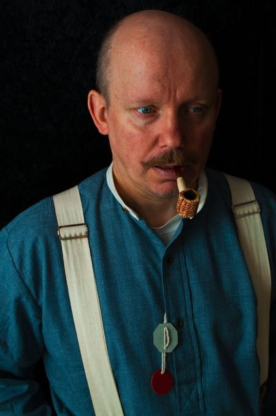 Portrait of a World War 1 Reanactor