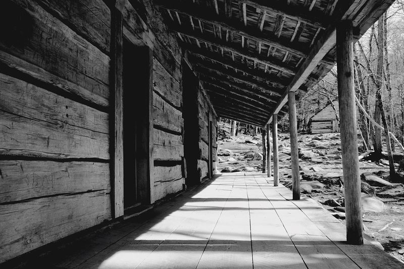 The Way Forward Built Structure Architecture Exceptional Photographs Outdoors Leading Lines Building Exterior Walkway Porch Old Buildings Log Cabin Cabin Light And Shadow Light Naturelovers Nature On Your Doorstep Nature_collection Nature Photography Relaxing Moments Relaxing Instadaily Instagood Relaxation Black And White Black And White Photography