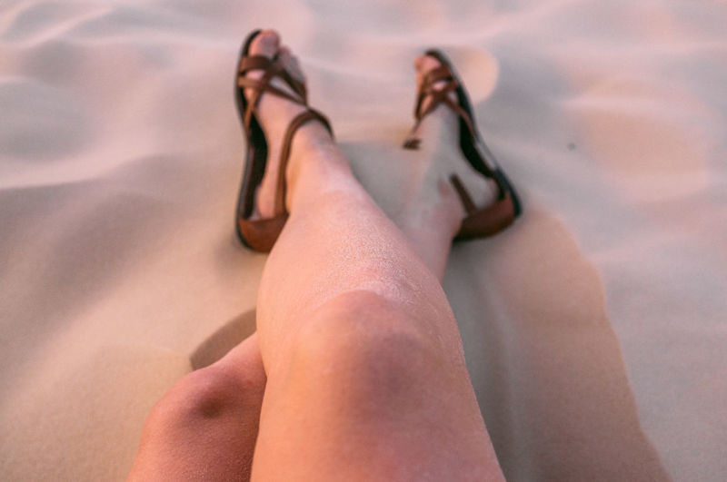 Barefoot Beach Brasil Close-up Day Dunes Florianópolis Human Body Part Human Foot Human Hand Human Leg Lifestyles Low Section Nature One Person Outdoors People Real People Relaxation Sand Sand Dune Sun Sunlight Sunset Women