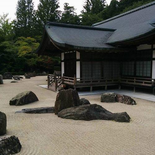 Karesansui Temple Stonegarden Kouyasan Japan