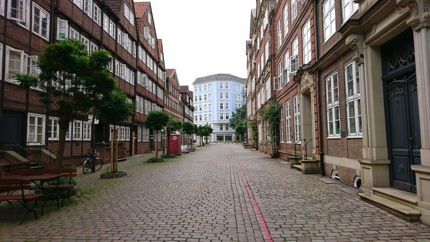 Gängeviertel. Hamburg Germany Hh Gängeviertel Architecture Urban Landscape Cityscape History Culture City Life Street Street Corridor Ahead The Way Forward Clouds Clouds And Sky Architecture City Street Built Structure City Street Travel Destinations Building Exterior