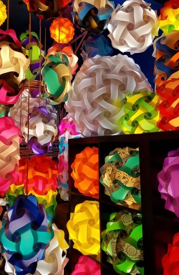 Window Display Multi Colored Bryant Park NYC