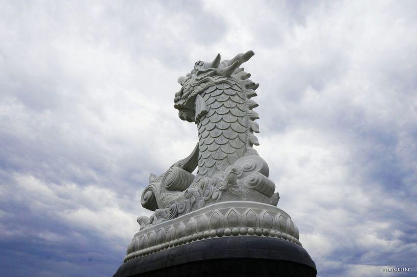 °°° Mô thì Cá Chép hóa Rồng °°° Taking Photos Check This Out Hanging Out Hello World Cá Chép Dragon Da Nang Cau Tau Tinh Yeu