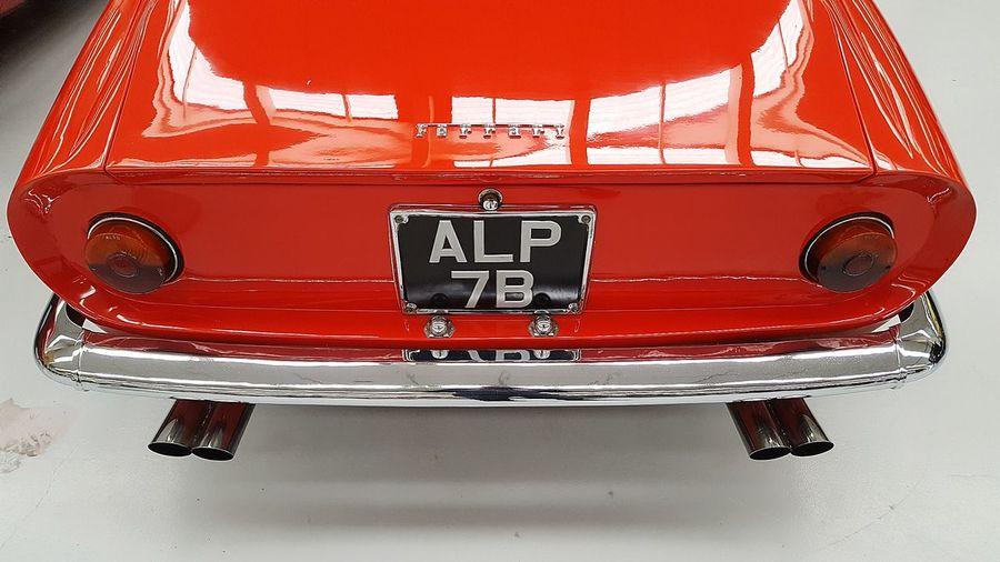 Red Car Ferrari Rare Car