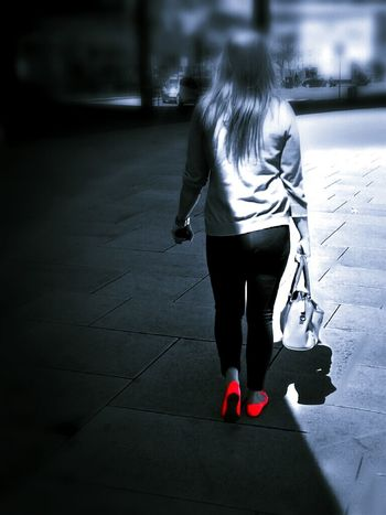 I like the way you walk, I like the way you talk... The Little Red Something Red Shoes