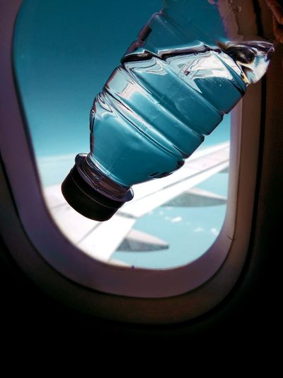 Blue Travel Airplane Window Window Water. Be. Ready. An Eye For Travel