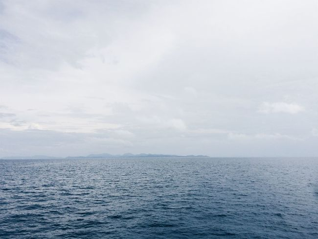 Beauty In Nature Cloud - Sky Day Horizon Over Water Nature No People Outdoors Rippled Scenics Sea Sky Tranquil Scene Tranquility Water Waterfront