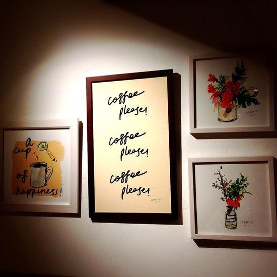 Coffee Please Photo Frames The Wall