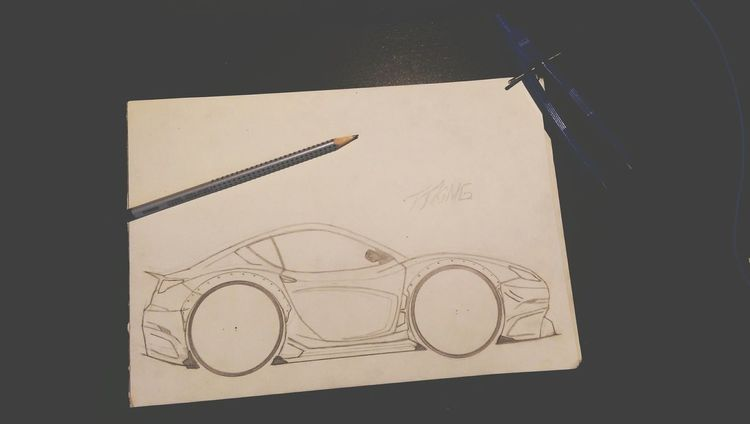 ArtWork,Drawing . TTKiNG Car