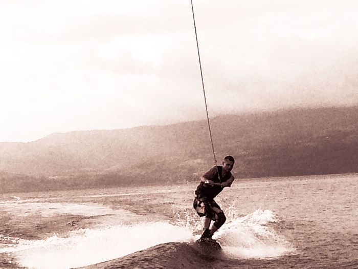 Silver Surfer Costa Rica Escaping Nature Wakeboarding Enjoying Life Lustforlife