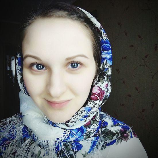 Теперь у меня есть новопосадский платок :-) самый красивый в мире! Новопосадские платки Russian Girl Made In Russia целомудрие Pure Fashion Blue Eyes