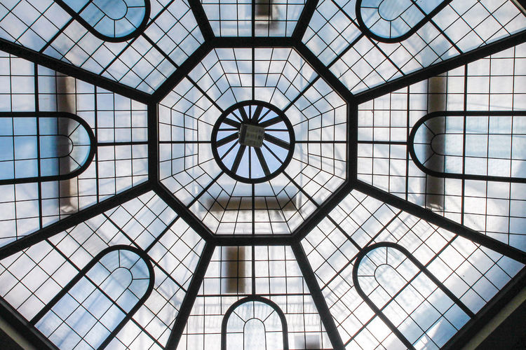 Vatican museums III Architectural Feature Architecture Architecture And Art Backgrounds Building Built Structure Ceiling Cupola Design Directly Below Dome Full Frame Geometric Shape Glass Glass - Material Indoors  Modern Pattern Shape Skylight Sunlight Textured Effect Window
