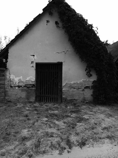 Ruined Building Black And White Photography Outdoors No People Enjoying Life Hello World :)