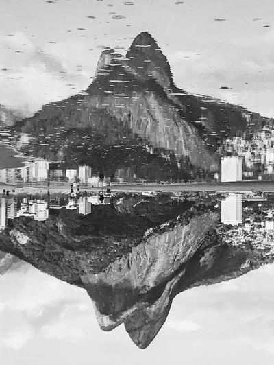 Ipanema Ipanema Beach Rio De Janeiro Brazil Blackandwhite Black And White Nikon D750 Vscocam VSCO The Week On EyeEm Cityscape