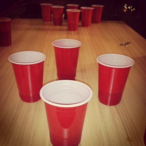 Beerpong 2015  Drinktime
