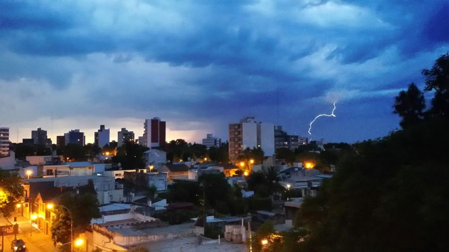 Buenos Aires, Argentina  Building Exterior Built Structure City City Life Cityscape Cloud Cloud - Sky Cloudy Dark Dramatic Sky Illuminated Lightning Lightning And Thunder Night No People Outdoors Overcast Rayo Sky Tarde  Weather Zarate