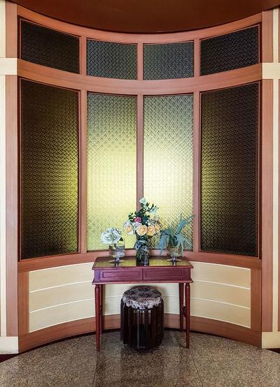 Modern Architecture Built Structure Chair Design Element Domestic Room Flooring Flowers In Vase Home Interior Interiors Design Luxury Ornate Table Vase