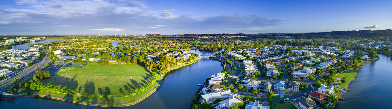 Australia Australian Landscape Drone  Drone Photography Panorama Panoramic Landscape Architecture Aerial View Building Exterior City Nature Building Transportation High Angle View Water Built Structure Cloud - Sky Sky Cityscape Scenics - Nature Residential District Land Environment Industry Outdoors No People