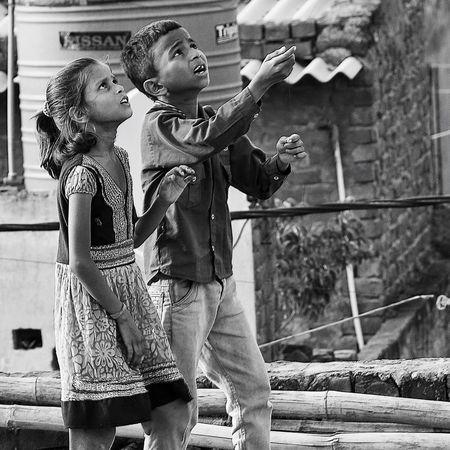 Kids and kites