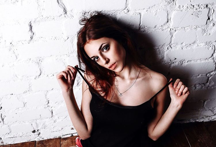 Russian Girl Beautiful Girl EyeEm Best Shots Beautiful DmitryBarykin Studio EyeEm Best Edits Portrait Color Portrait