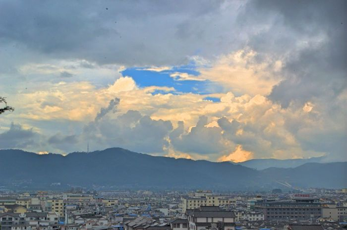 Chinese Ancient Culture Sky Sunshine Blue Coulds And Sky EyeEmNewHere