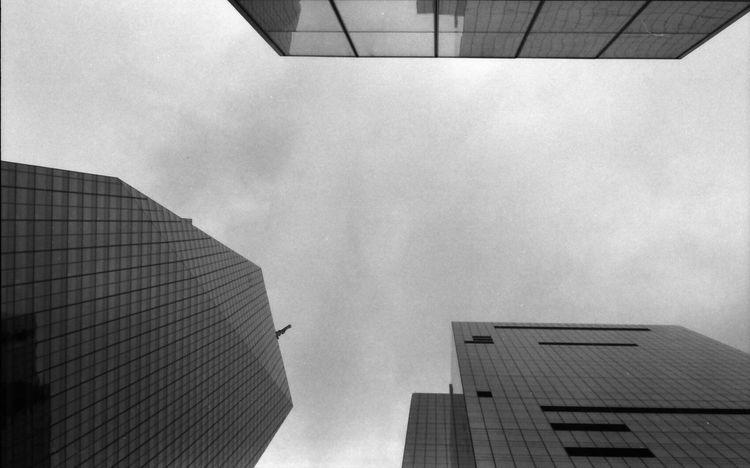 Architecture Film New York City B&w