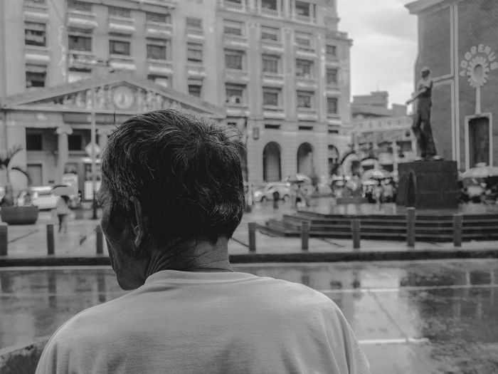 Old man's world Rear View Architecture Built Structure Building Exterior Close-up Headshot Real People The Photojournalist - 2017 EyeEm Awards Live For The Story The Street Photographer - 2017 EyeEm Awards Place Of Heart The Portraitist - 2017 EyeEm Awards Olympus OLYMPUS PEN E-P3 Eyeem Philippines The Architect - 2017 EyeEm Awards Manila