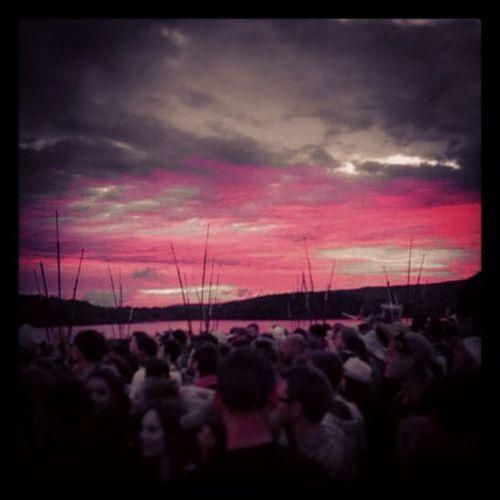 Sunsetn air] sunset Concert Pink