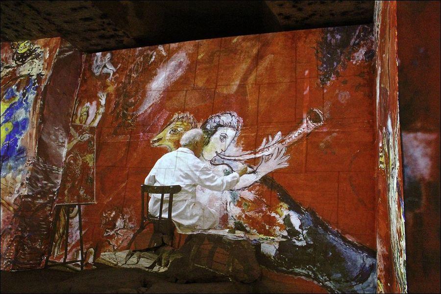 Carrieres de Lumieres, Marc Chagall Art ArtWork Carrieres De Lumieres EyeEm EyeEm Best Shots EyeEm Gallery Illuminated Illumination Les Beaux De Provence Marc Chagall Provence Provencealpescôtedazur Tadaa Tadaa Community Tadaa Friends