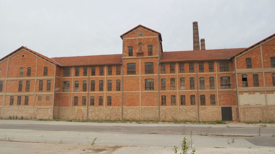 Indust Amazing Place Architecture Building Exterior Camps Des Milles Deportation Historical Building History Industrial Les Milles Never Forget Old Buildings Prison