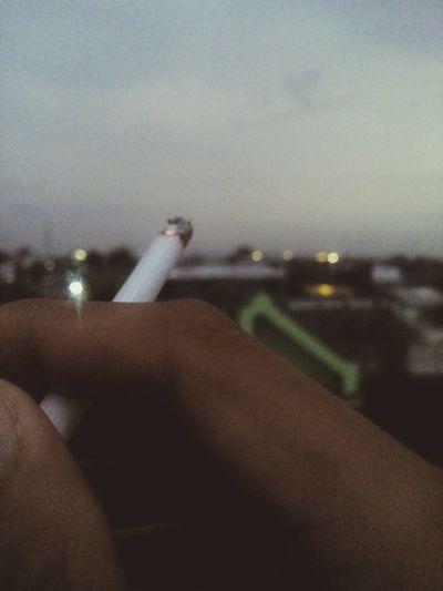 smoking kills... Relaxing Enjoying The View