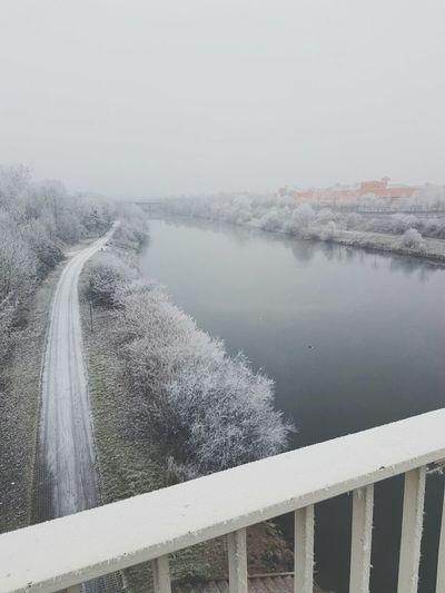 Saarland Saar Water Nature Snow