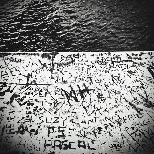 Repost Edited Long Goodbye Love ♥ Water Memories Welcome To Black Close-up No People Text Art Is Everywhere Yourlife