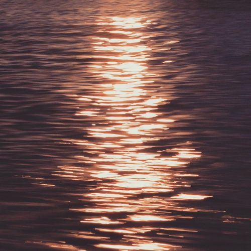 """""""Life can only be understood backwards; but it must be lived forwards."""" ~Søren Kierkegaard Reflection Shimmer Light And Shadow Water Water Reflections Rosetinted Sunsetreflections Sunset Goldenhour"""