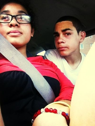 Me & My Little Brother . ❤ For Some Reason I Love This Picture Of Us .