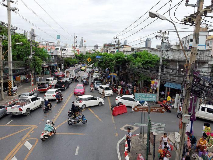 Traffic. City