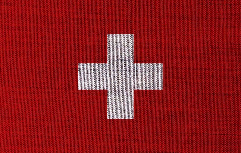 Swiss flag Swiss Flag Lugano, Switzerland Zurigo Europe Red No People Close-up Textile Indoors  Full Frame