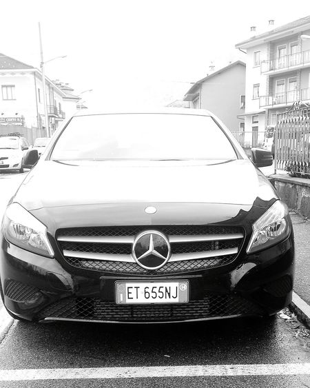 All black everything Mercedes Aclass Mercedes-Benz Followme Power Lines AMG