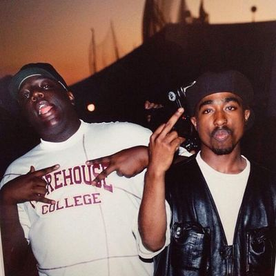 Tupac & Biggie  back in 1994 Legends Rip hiphop