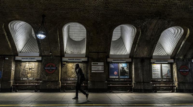 EyeEmNewHere London London lifestyle LondonTransport Underground Station  Undergroundphotography Architecture Indoors  Lifestyles Mode Of Transportation Public Transportation Rail Transportation Railroad Station Transportation Tube Station  Tubelight