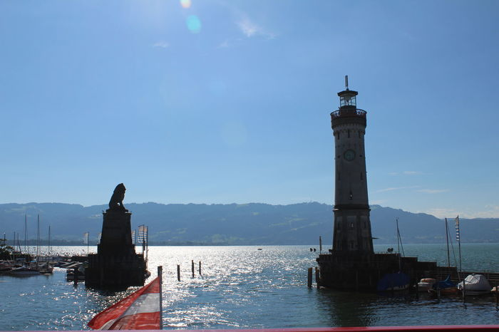 Bodensee Harbour Lindau Shiptour Water Holliday Austria Perfect Day