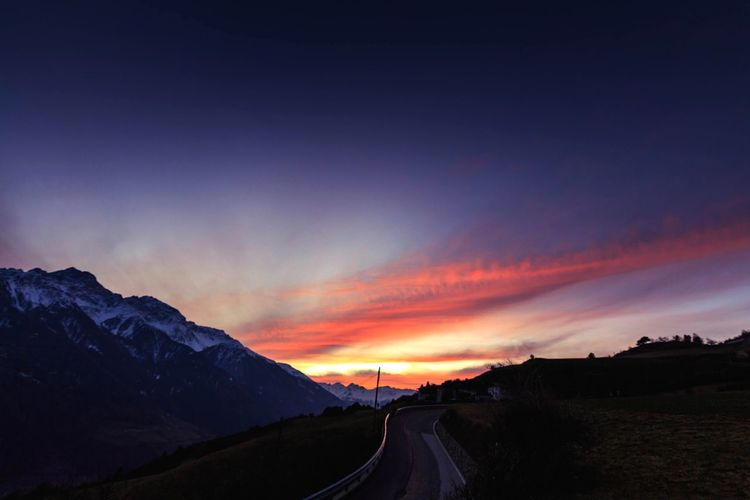 Landscape Dramatic Sky Sunset No People Beauty In Nature EyeEmNewHere