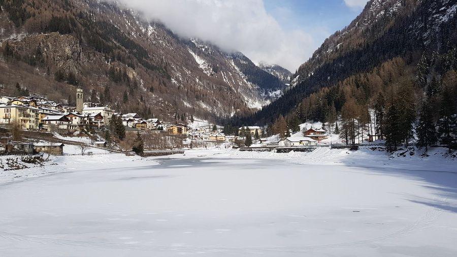Neve Ghiaccio Lago Ghiacciato Snow ❄ Ice