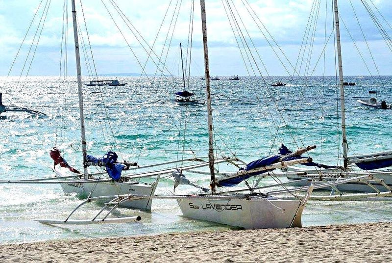 Sea Boracay Philippines Boracay Beach Vlada First Eyeem Photo
