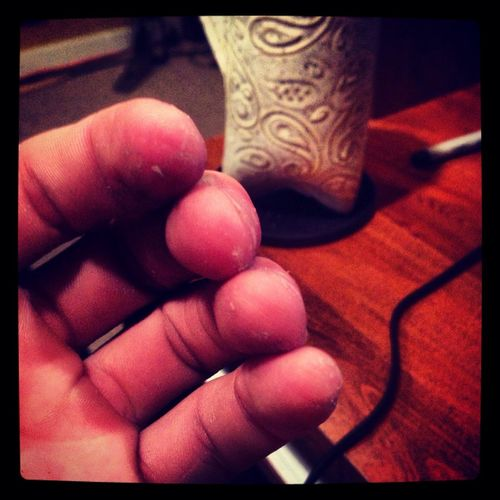 Playing Ny Fingers To The Bone #guitar #music #rock